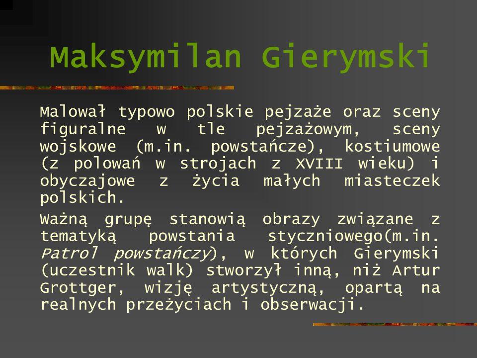 Maksymilan Gierymski