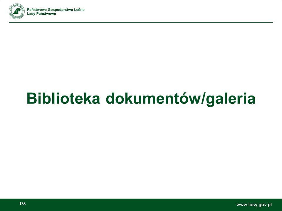 Biblioteka dokumentów/galeria