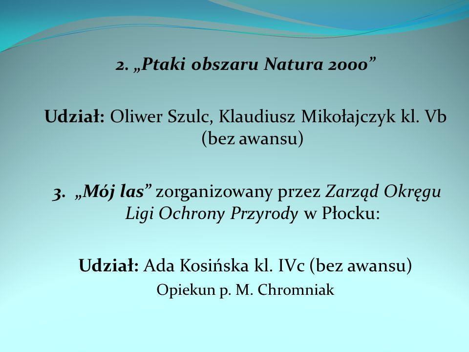 "2. ""Ptaki obszaru Natura 2000"