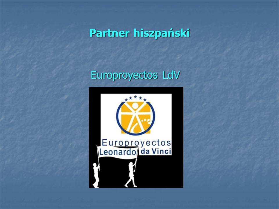 Partner hiszpański Europroyectos LdV