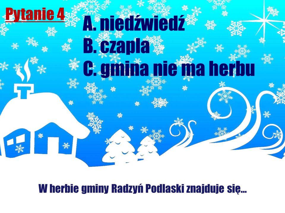 W herbie gminy Radzyń Podlaski znajduje się…