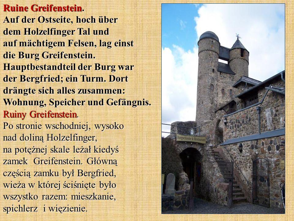 Ruine Greifenstein.