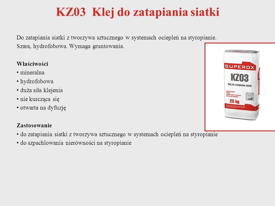 KZ03 Klej do zatapiania siatki