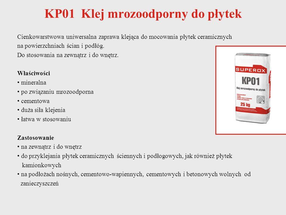 KP01 Klej mrozoodporny do płytek