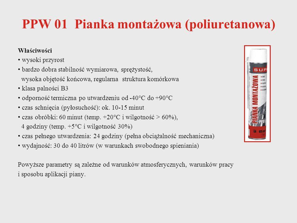 PPW 01 Pianka montażowa (poliuretanowa)