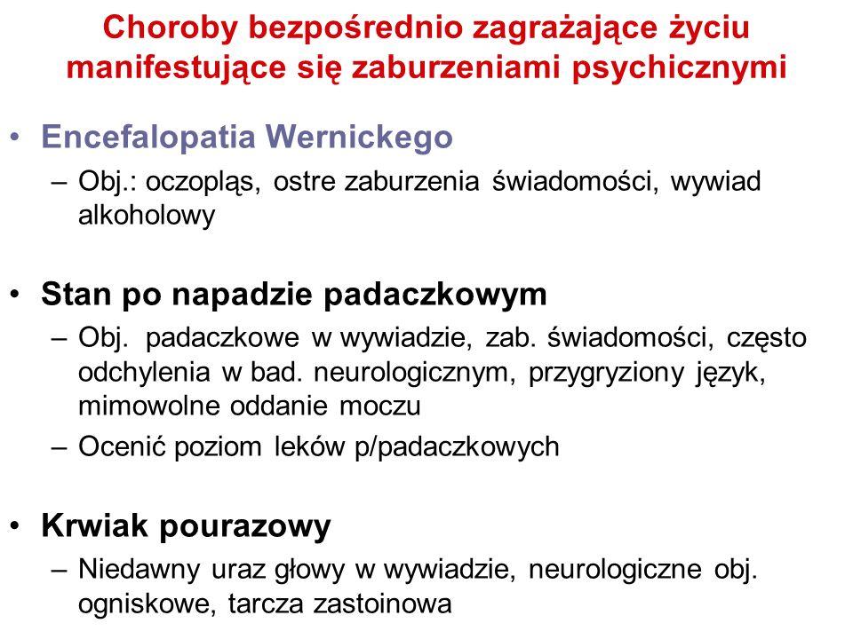 Encefalopatia Wernickego