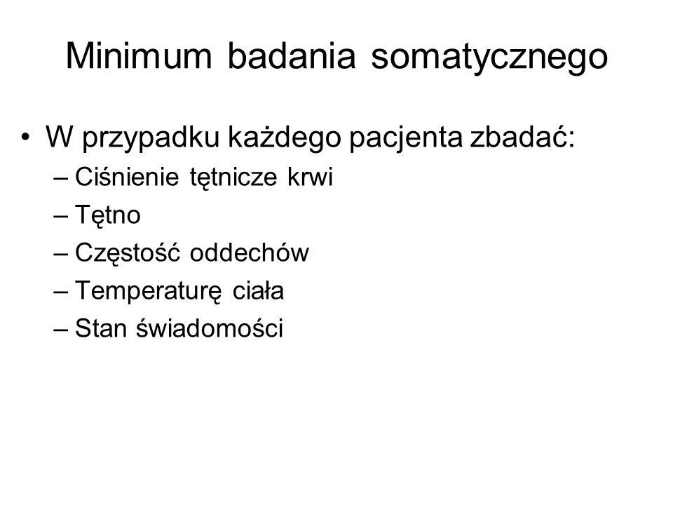 Minimum badania somatycznego