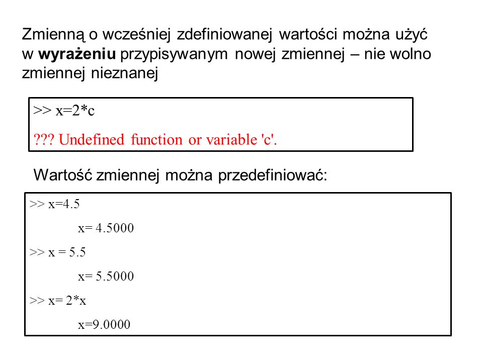 Undefined function or variable c .