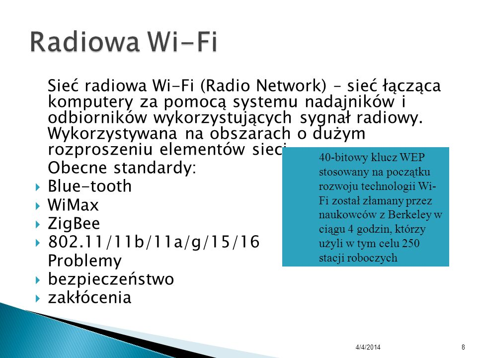 Radiowa Wi-Fi