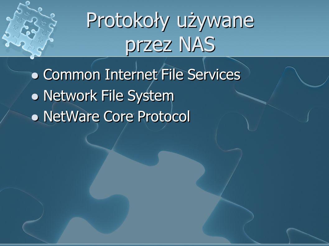 Protokoły używane przez NAS