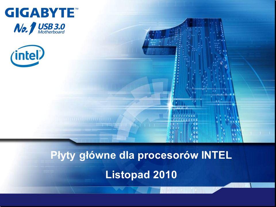 Płyty główne dla procesorów INTEL