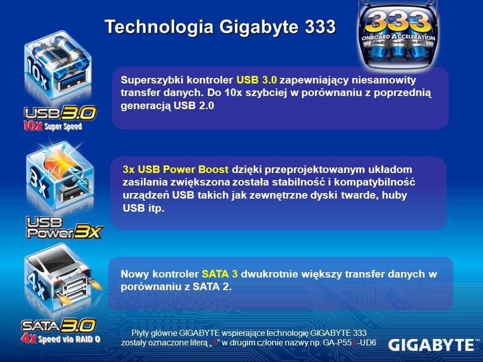 Technologia Gigabyte 333