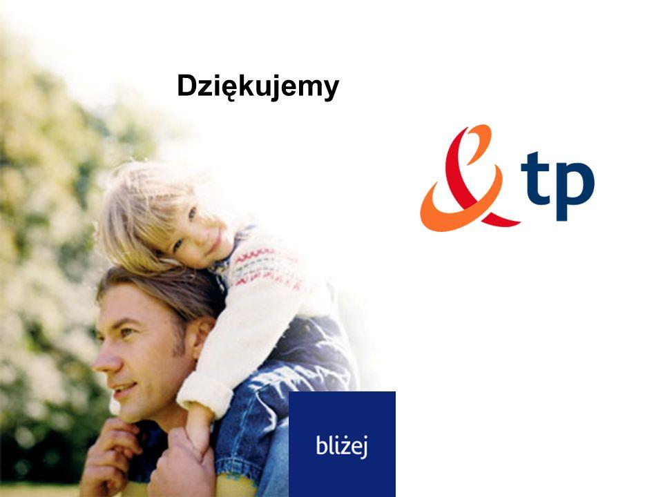 Dziękujemy Dziękujemy Dotyczy: dostęp do Internetu DSL tp