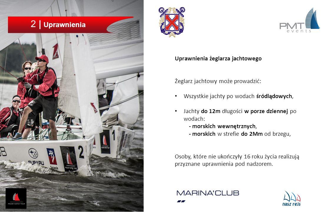 2 | Uprawnienia Uprawnienia żeglarza jachtowego