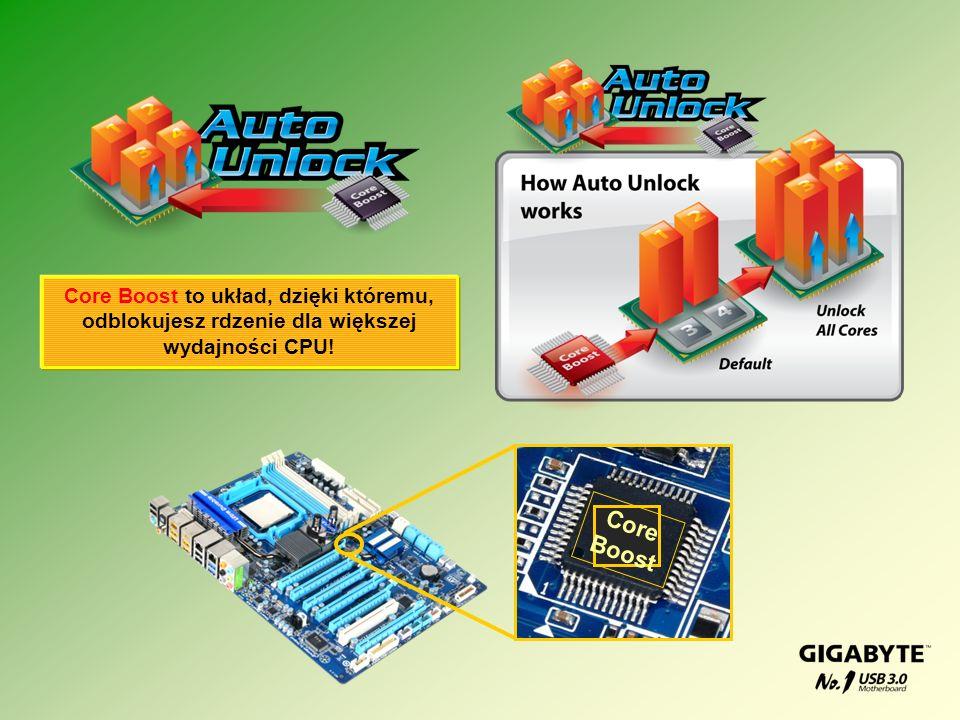 Core Boost to układ, dzięki któremu, odblokujesz rdzenie dla większej wydajności CPU!