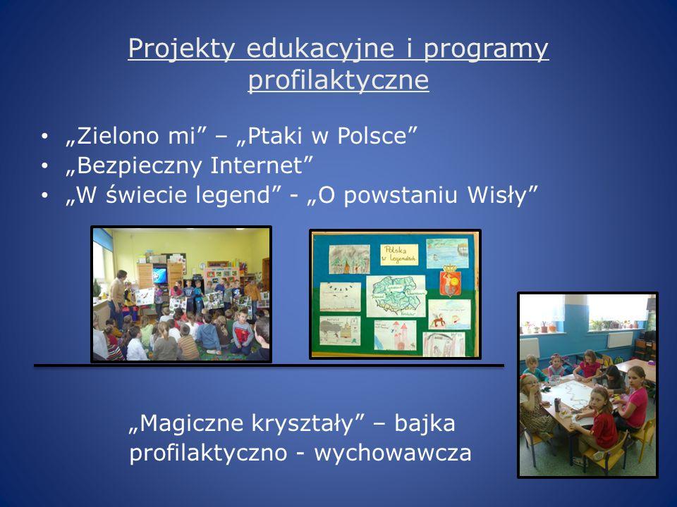Projekty edukacyjne i programy profilaktyczne