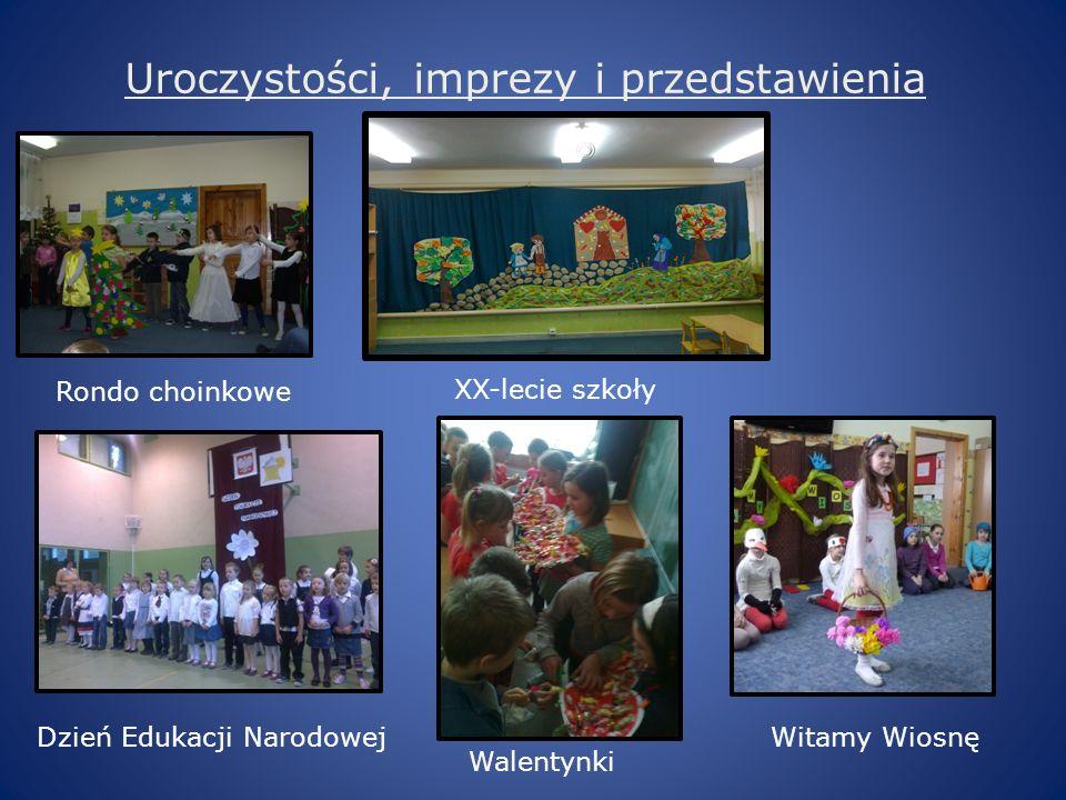 Uroczystości, imprezy i przedstawienia