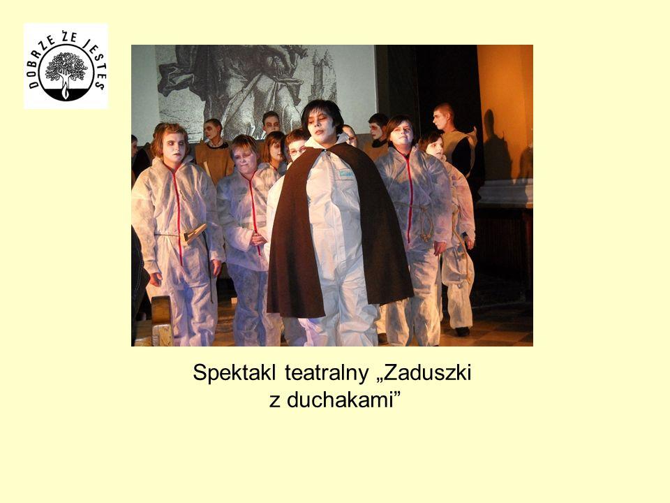 """Spektakl teatralny """"Zaduszki z duchakami"""