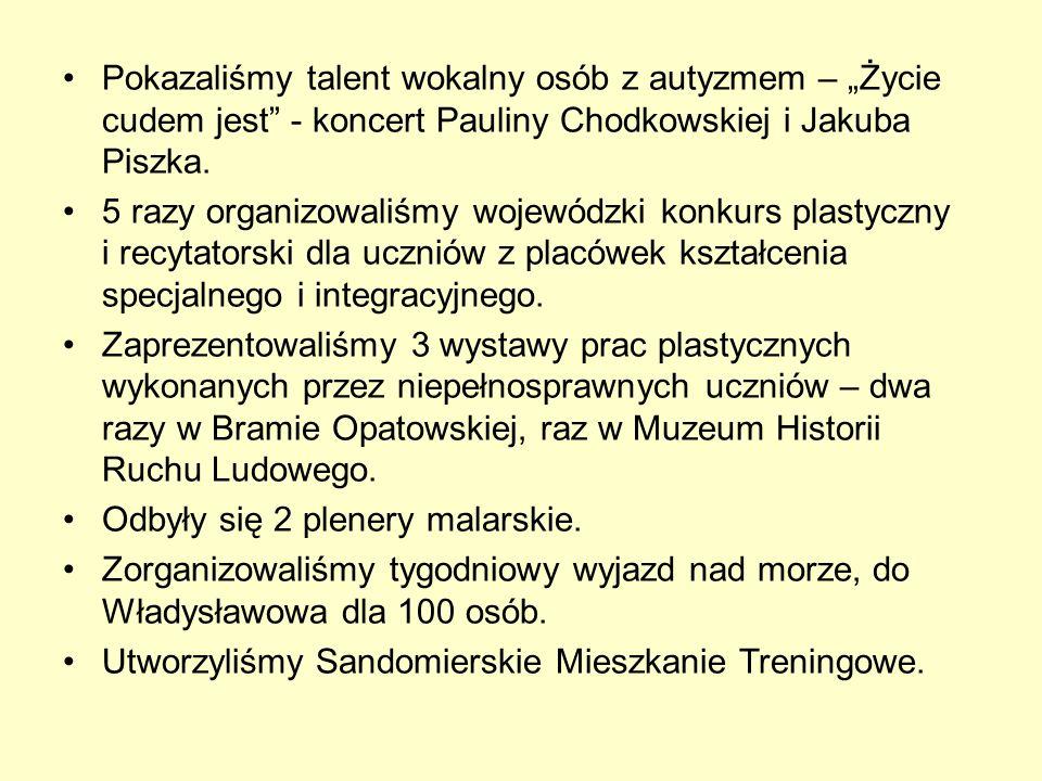 """Pokazaliśmy talent wokalny osób z autyzmem – """"Życie cudem jest - koncert Pauliny Chodkowskiej i Jakuba Piszka."""