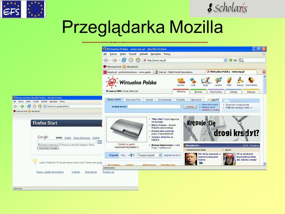 Przeglądarka Mozilla