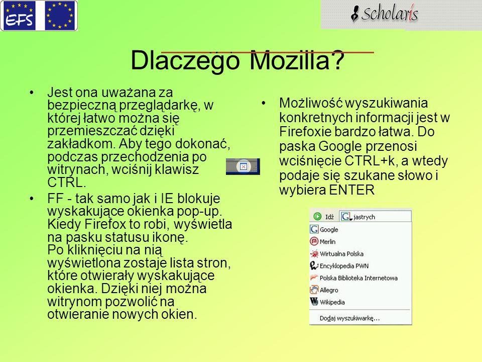 Dlaczego Mozilla