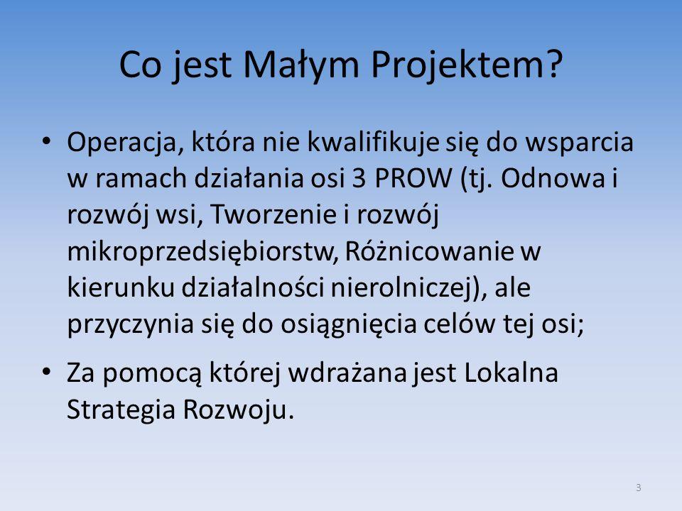 Co jest Małym Projektem