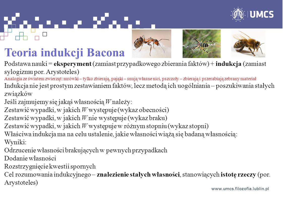 Teoria indukcji Bacona