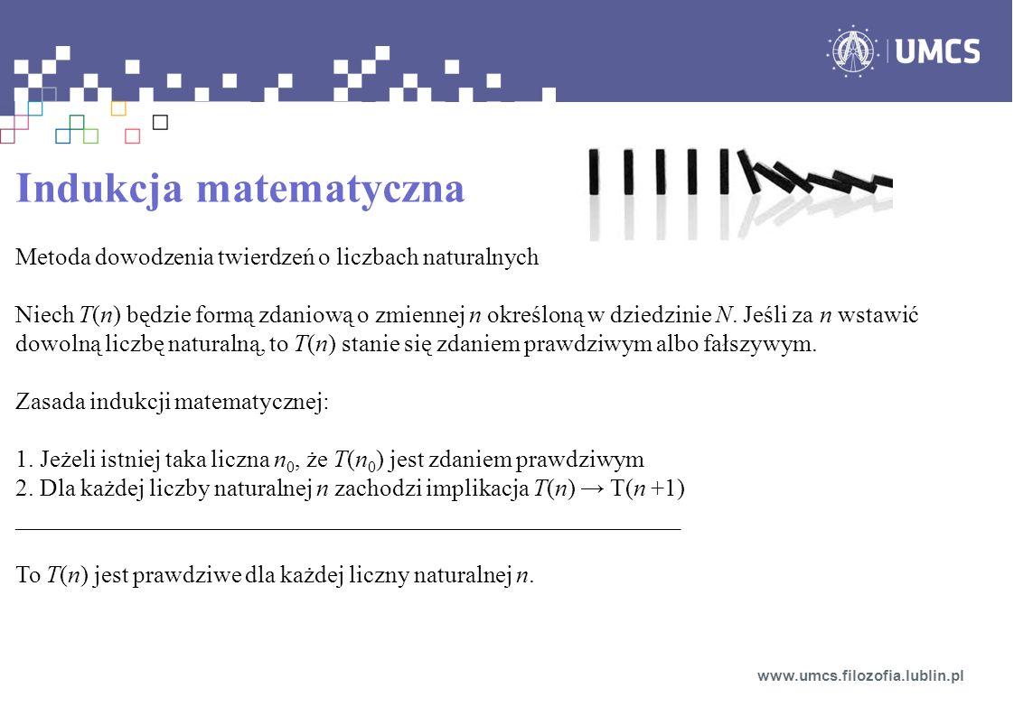 Indukcja matematyczna