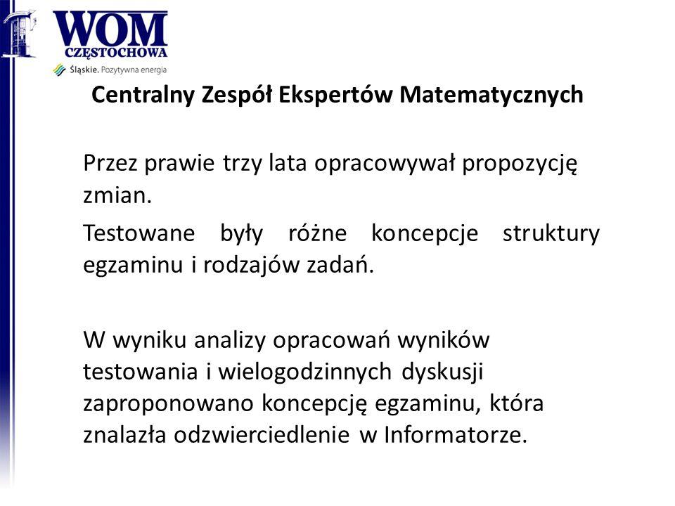 Centralny Zespół Ekspertów Matematycznych