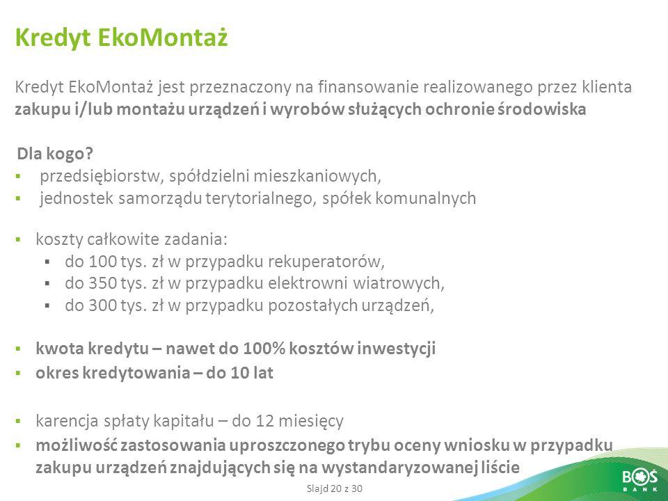 Kredyt EkoMontaż