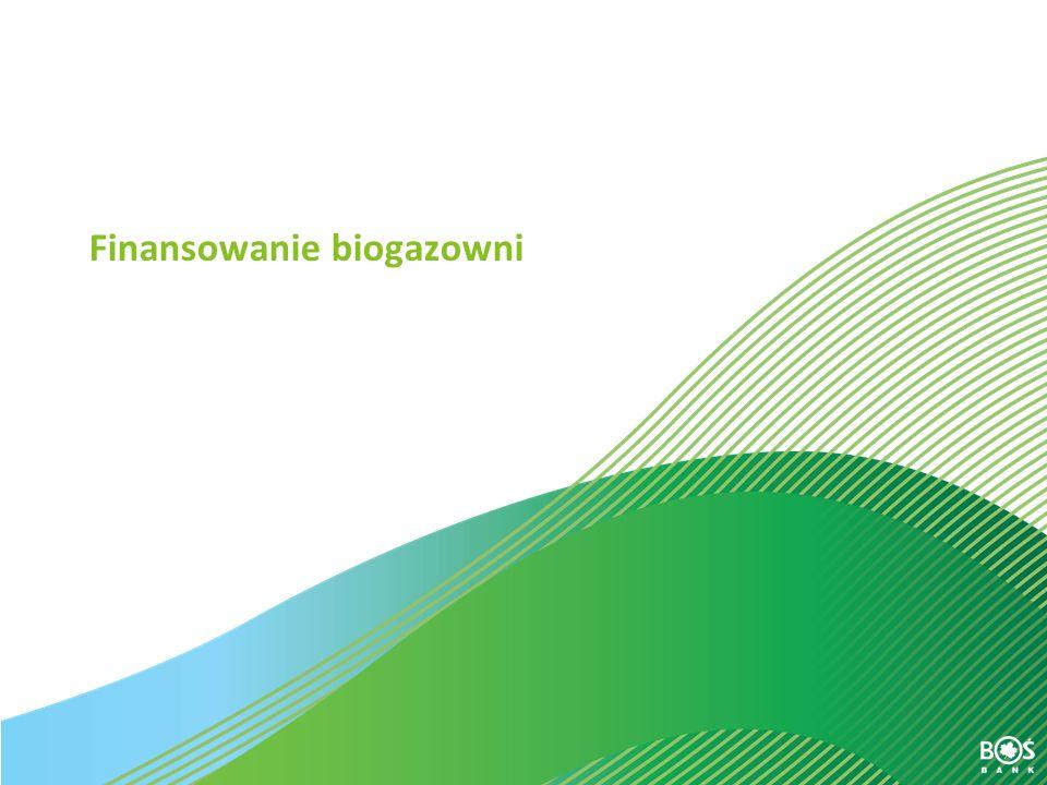 Finansowanie biogazowni