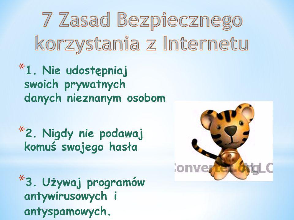 7 Zasad Bezpiecznego korzystania z Internetu