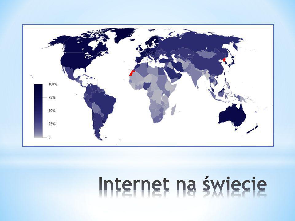 Internet na świecie