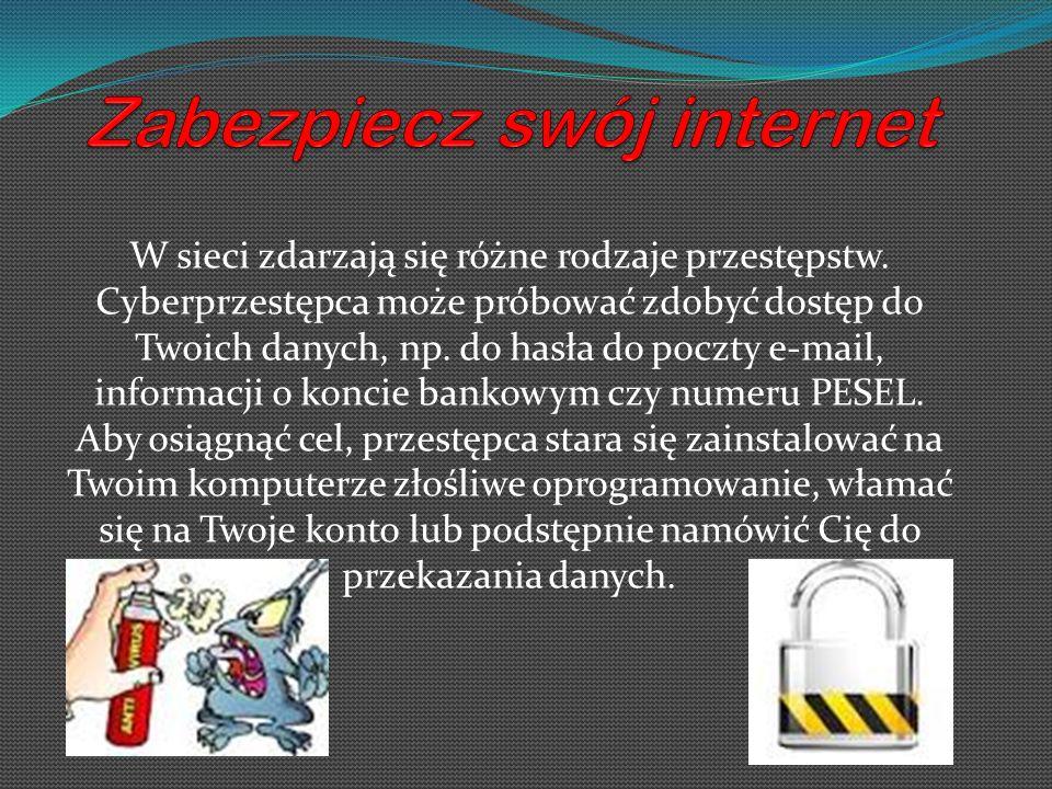 Zabezpiecz swój internet