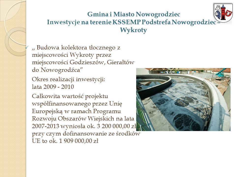 Gmina i Miasto Nowogrodziec Inwestycje na terenie KSSEMP Podstrefa Nowogrodziec – Wykroty