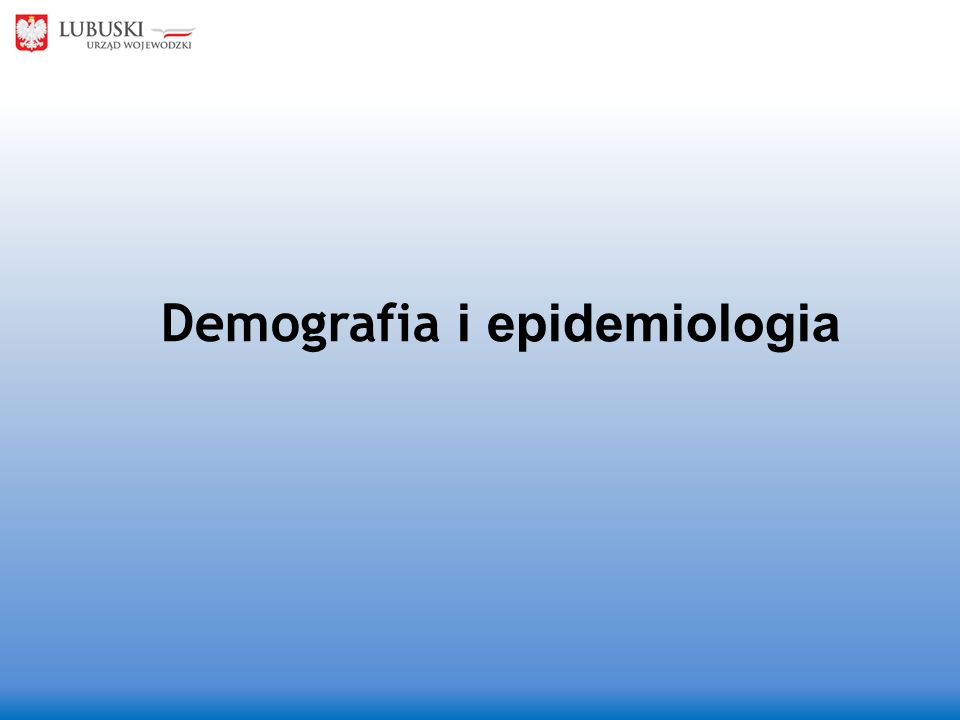 Demografia i epidemiologia