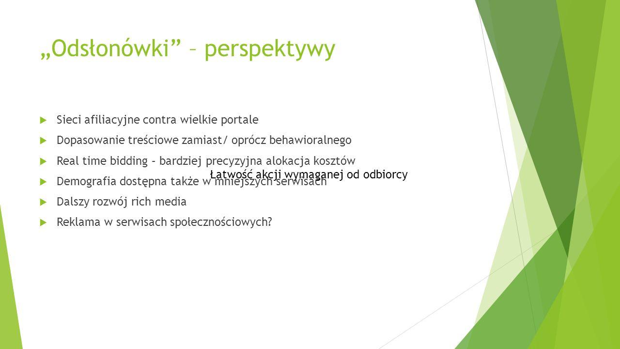 """""""Odsłonówki – perspektywy"""