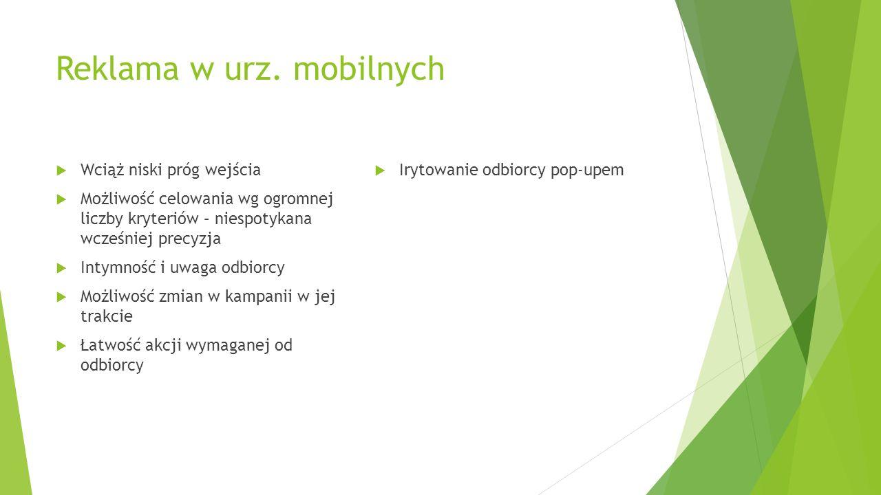 Reklama w urz. mobilnych