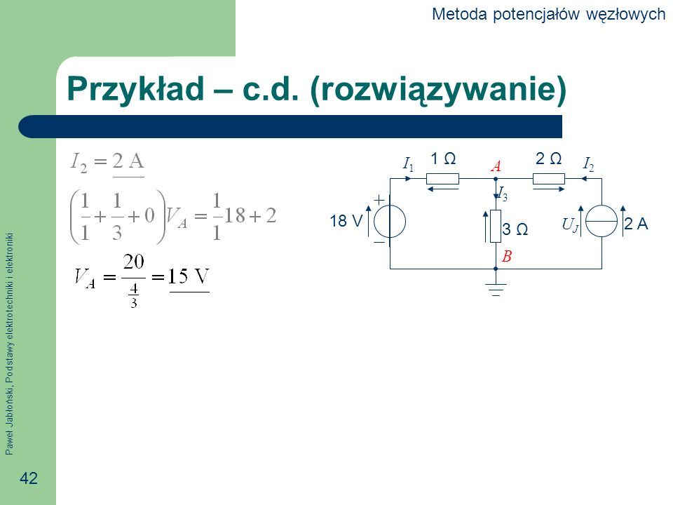 Przykład – c.d. (rozwiązywanie)