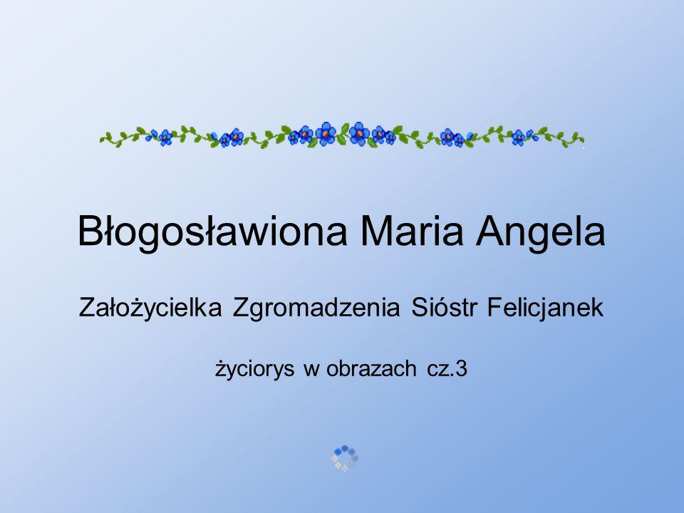 Błogosławiona Maria Angela