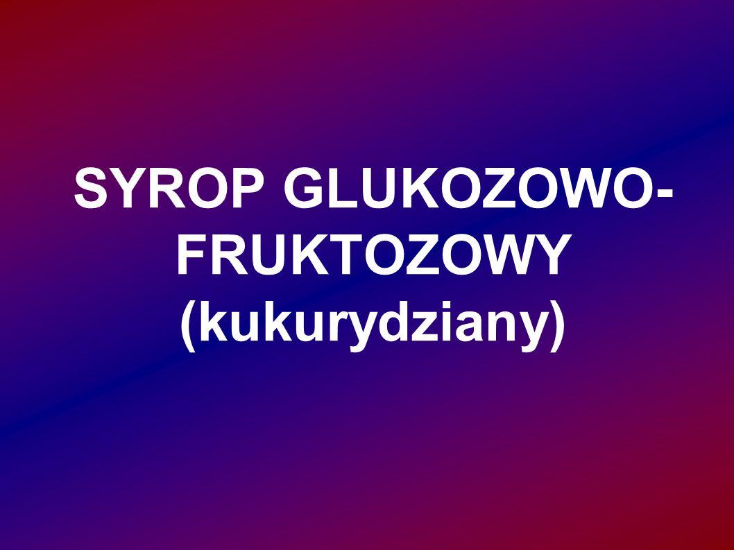SYROP GLUKOZOWO- FRUKTOZOWY (kukurydziany)