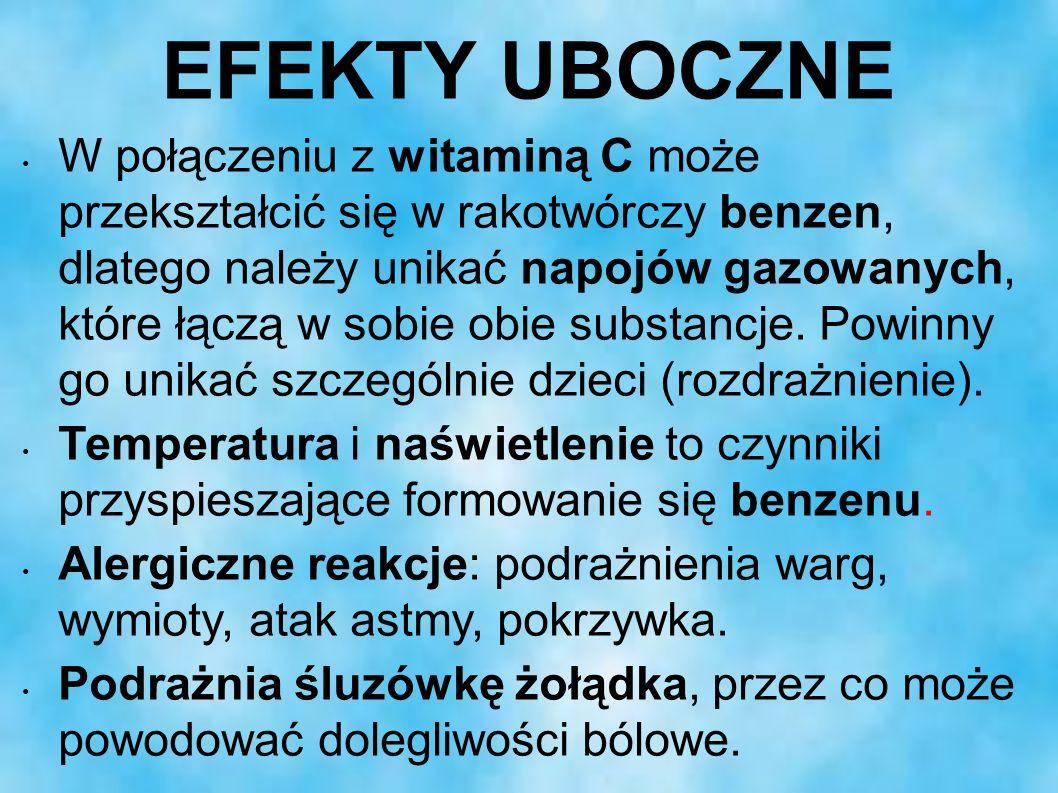 EFEKTY UBOCZNE