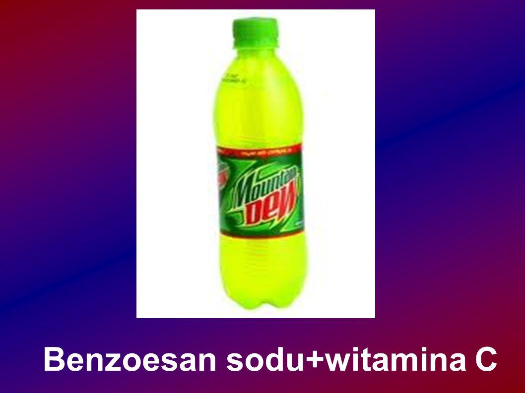 Benzoesan sodu+witamina C