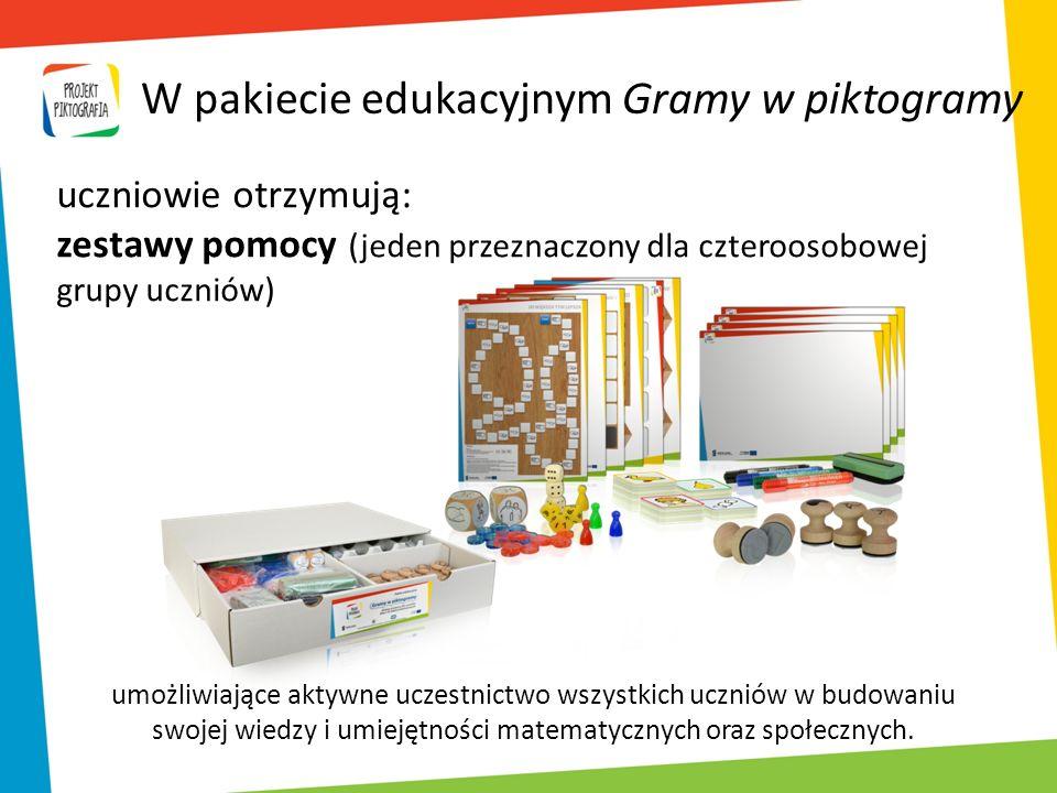 W pakiecie edukacyjnym Gramy w piktogramy