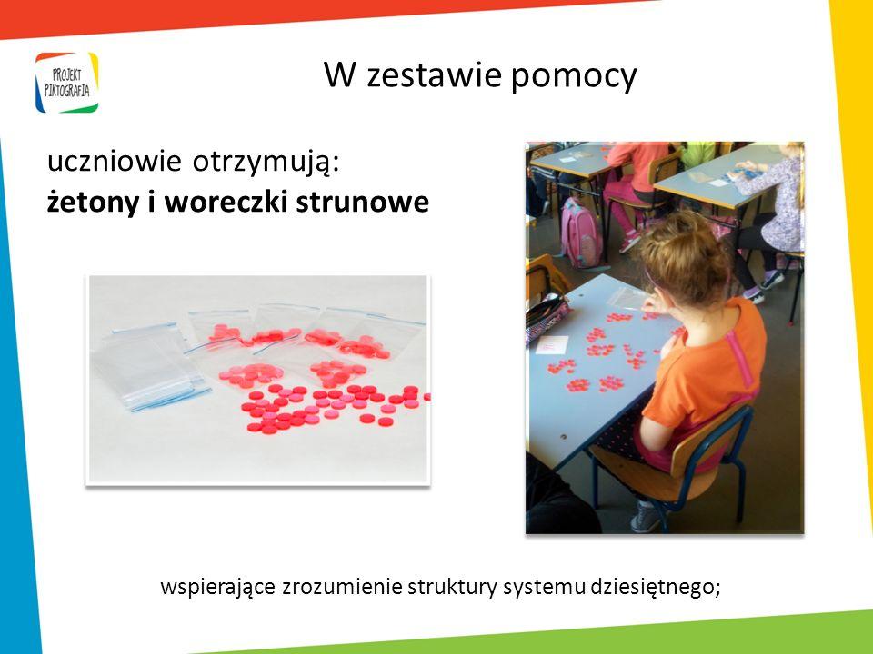 wspierające zrozumienie struktury systemu dziesiętnego;