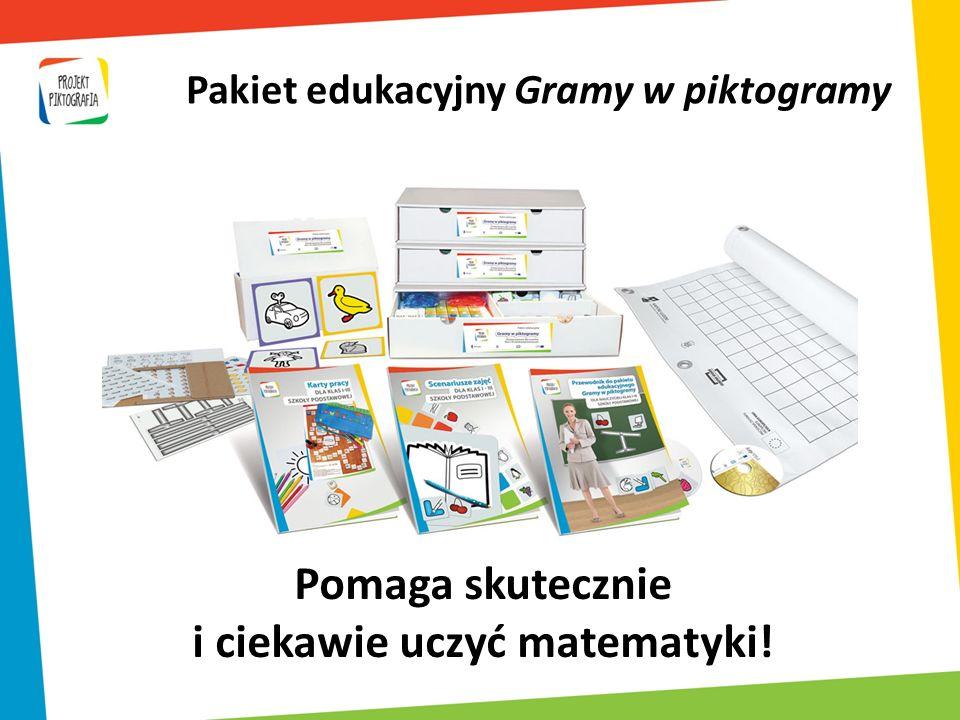 Pakiet edukacyjny Gramy w piktogramy i ciekawie uczyć matematyki!
