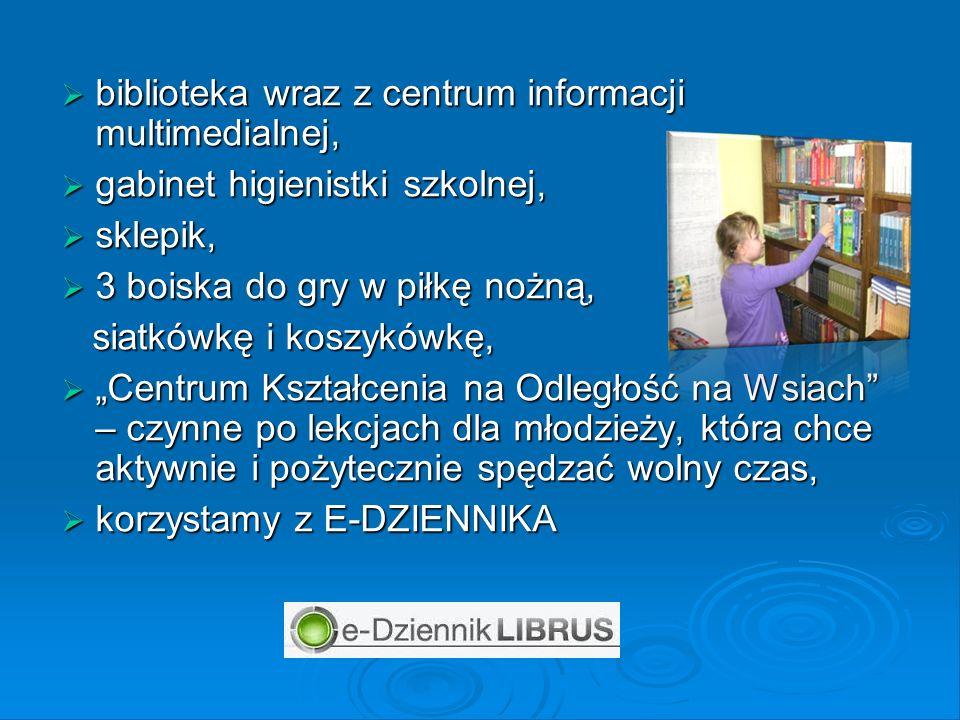 biblioteka wraz z centrum informacji multimedialnej,