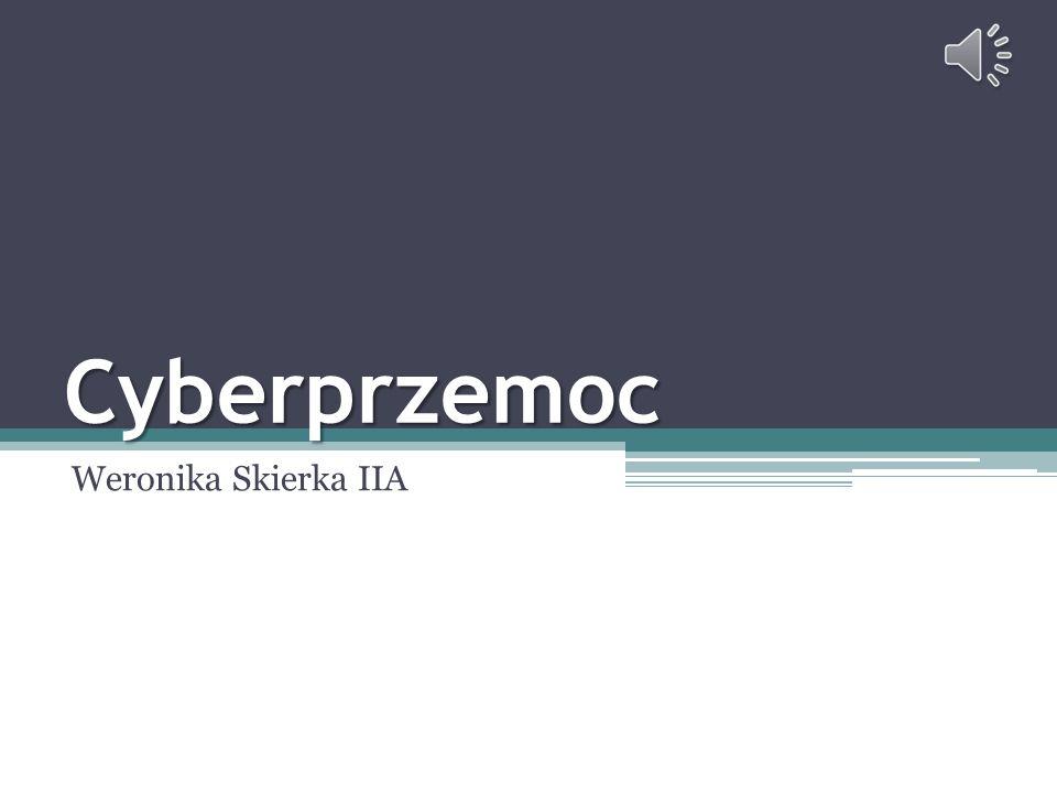 Cyberprzemoc Weronika Skierka IIA