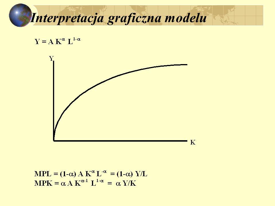 Interpretacja graficzna modelu