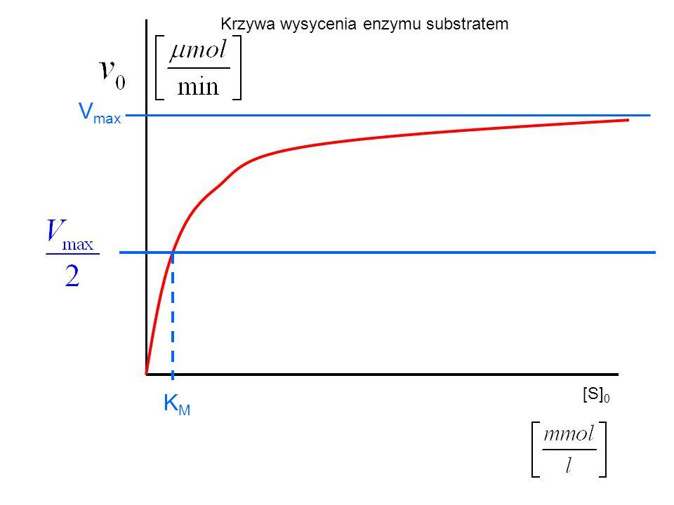 Krzywa wysycenia enzymu substratem